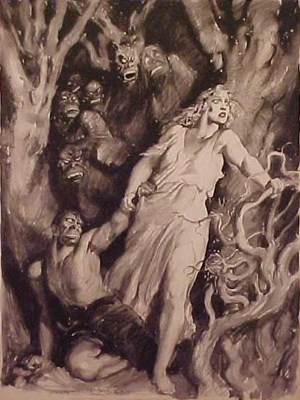 City Collection Norman Lindsay - Seven Demons