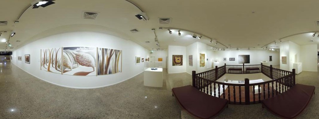 General - First Floor Gallery Space Panorama