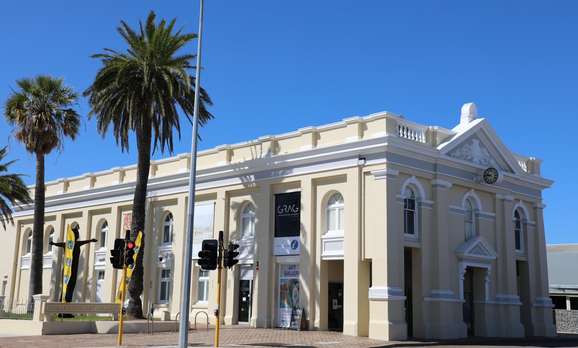 Geraldton Regional Art Gallery Exhibition Space Temporarily Closed!