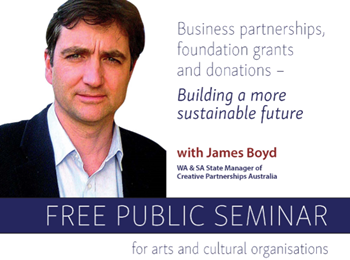 Business partnerships, foundation grants and donations with James Boyd